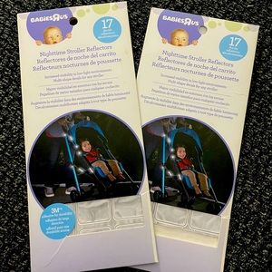 NWT*  babies r us stroller reflectors set of two